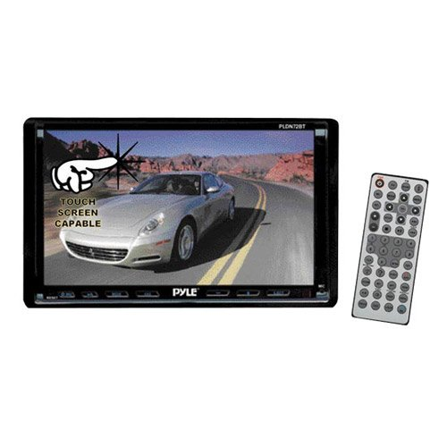 amazon com pyle pldn72bt 7 inch double din tft touch screen dvd vcd rh amazon com Pyle Car Audio Pyle Car Audio