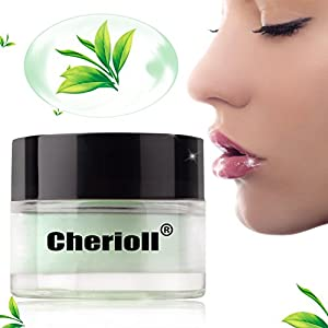 Moisturizing Green Tea Sleeping Lip Mask Balm, Best Solution For Chapped And Cracked Lips, Unique Formula And Power Benefits Of Green Tea