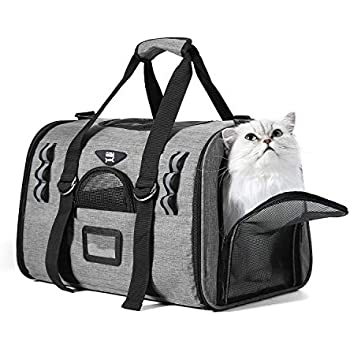 Amazon Com Noble Duck Soft Sided Cat Carriers For Medium Cats