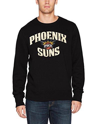 - NBA Phoenix Suns Men's Ots Fleece Crew Distressed, Large, Jet Black