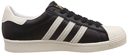 Adidas Mens Superstar 80s Core Black Footwear White Leather Trainers 8.5 US sale reliable free shipping fast delivery nTrcf