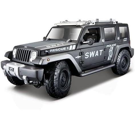 Jeep Wrangler Rescue Concept Orange Grand Cherokee 1//18 Maisto Modell Auto mit..