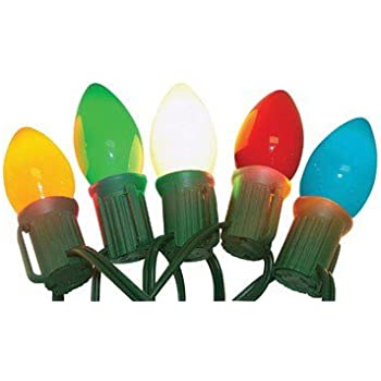 Amazon.com: Celebrations 2936-71 C9 LED Traditional Light Set ...