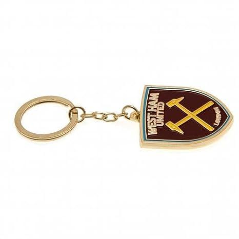 Nuevo equipo de fútbol West Ham United Crest clave anillos ...