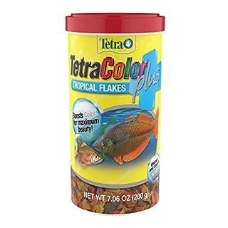 TetraColor Plus Tropical Flakes 7.06 Ounces, With Natural Color Enhancers