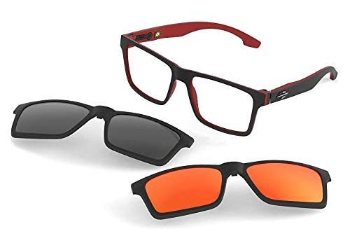 Armacao Oculos Grau Mormaii Swap M6057AA9 Clipon Polarizado