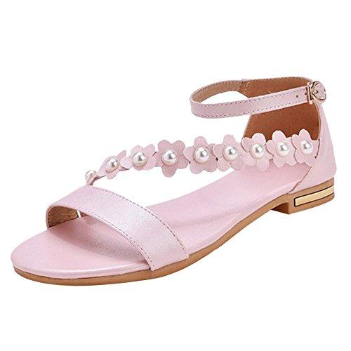 Coolcept Women Open Toe Sandals Pink TdodMyd
