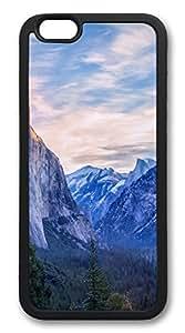 iPhone 6 Case Yosemite National Park TPU Custom iPhone 6 Case Cover Black