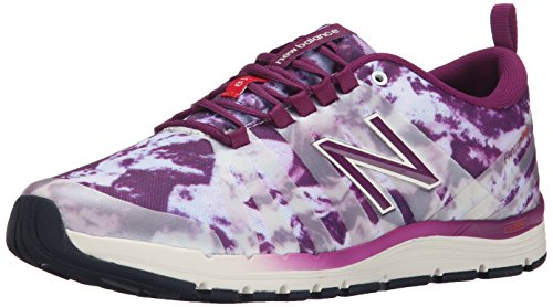 Femme New ic White Fitness Balance De Purple Wx811 B Multicolore Chaussures qwSxqfP