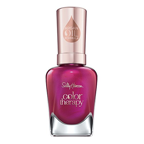 Sally Hansen Color Therapy Nail Polish, Rosy Glow, Pack of 1