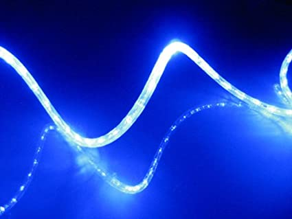 Amazon 25ft blue led rope light kit for 12v system christmas 25ft blue led rope light kit for 12v system christmas lighting outdoor rope lighting aloadofball Image collections