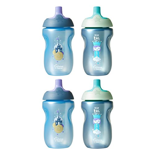 Tommee Tippee Spill-Proof Toddler Sportee Bottle Sippy Cup,
