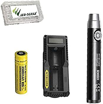 Charger Nitecore GEM10UV 3000mW LED Flashlight Ultraviolet Torch Battery
