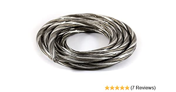Amazon.com: KnuKonceptz Karma Kable Twisted 12 Gauge Bi-Wire Speaker ...