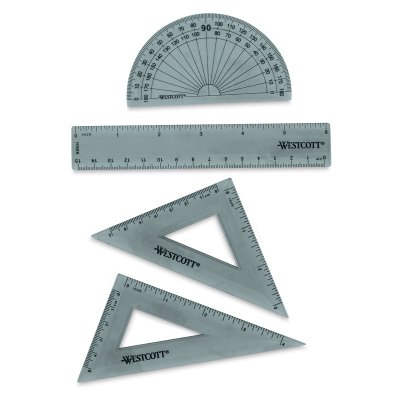 Acme KT-1 6'' Ruler Combo Set, 4 Pieces by Acme (Image #2)
