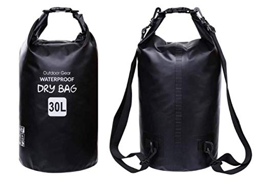 Waterproof Boat Dry Bags, Dry Sack with Travel Storage Bag Outdoor Water Sports for Boating, Kayaking, Swimming, Fishing…