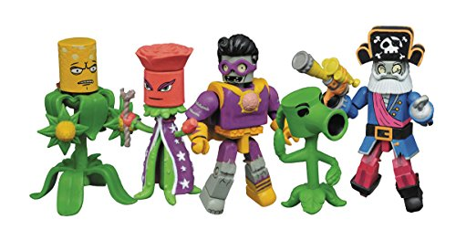 Diamond Select Toys Plants vs. Zombies: Garden Warfare 2 Minimates Box Set