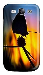Butterfly Shadow Custom Samsung Galaxy S3 I9300 Case Cover šC Polycarbonate