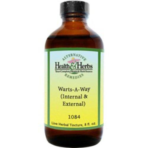 Alternative Health & Herbs Remedies Warts, external & internal 8-Ounce Bottle