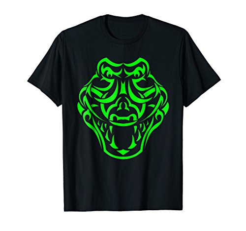 Tribal Alligator Shirt. Cool Tattoo Style Crocodile T (Cool Tribal Tattoos)