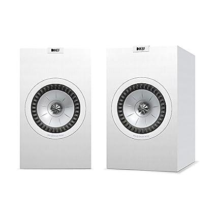 KEF Q350 Bookshelf Speakers (Pair, White) (Q350WH): Amazon