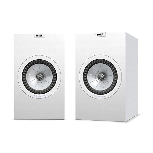 KEF Q350 Bookshelf Speakers (Pair, White)