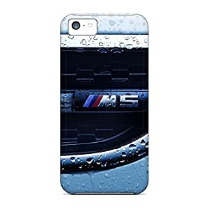 High-definition mobile phone skins Awesome Phone Cases Heavy-duty iphone 4s - closeup cars water drops bmw m5