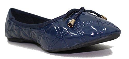 Extreme Di Eddie Marc Eddie Marc Exteme Womens 5430 Regular Classic Slip On Chunky Heel Mocassino Shoes Navy