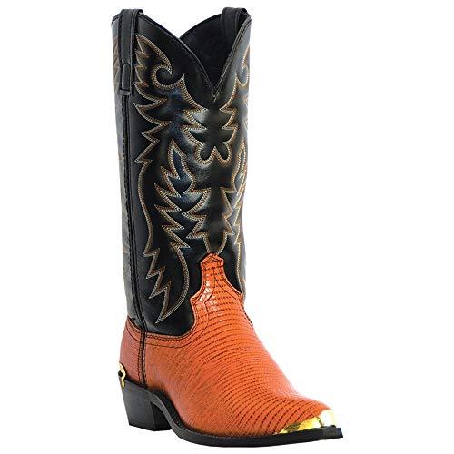 (Laredo Men's Atlanta Western Boot,Antique Peanut,9 D US)