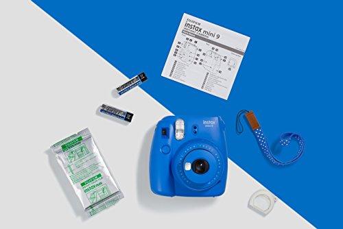 instax Mini 9 Camera with 10 Shots - Cobalt Blue
