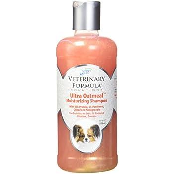 Veterinary Formula Solutions Ultra Oatmeal Moisturizing Shampoo for Dogs, 17 oz. – Moisture-Rich Nourishing Shampoo – Leaves Coat Clean, Soft, Silky, Shiny