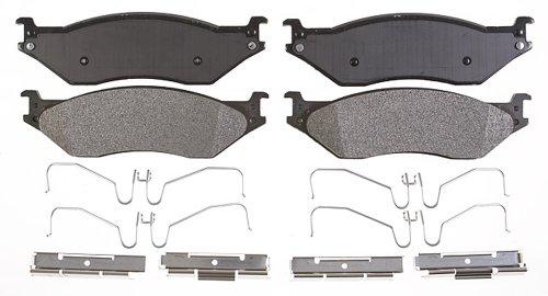 Ford F53 Replacement - Raybestos PGD1066M Professional Grade Semi-Metallic Disc Brake Pad Set