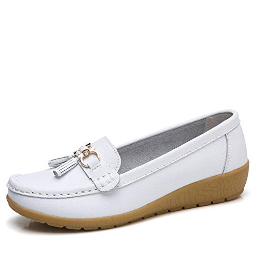 4134fe71298a Light Shoes Woman Genuine Leather Women Flats Slip On Women s Loafers  Female Moccasins Shoe Plus Si