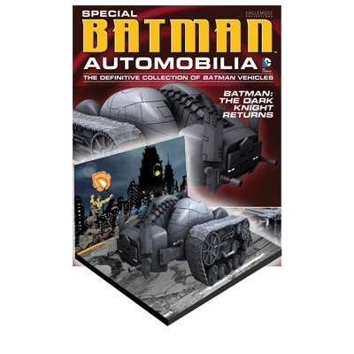 Eaglemoss DC Batman Automobilia Figurine Collection Special #2 Dark Knight Returns Bat Tank
