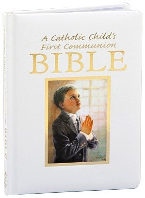 Catholic Child's First Communion Gift Bible-NAB-Boy [Leather Bound] [2011] (Author) Victor Fr Hoagland, Rev Victor Hoagland