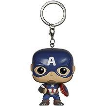 Funko Pocket POP Llavero: Marvel–Avengers 2–Cap. America Figura de acción