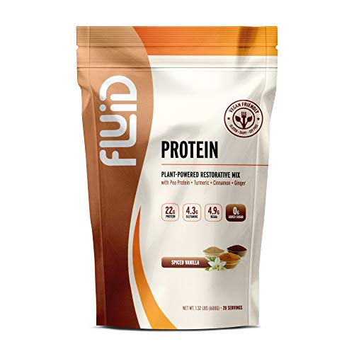 Fluid Recovery, Post-Workout Drink Mix, Whey Isolate Protein, L-Glutamine, Carbs, All Natural Ingredients, Gluten-Free, Lactose-Free (Spiced Vanilla)