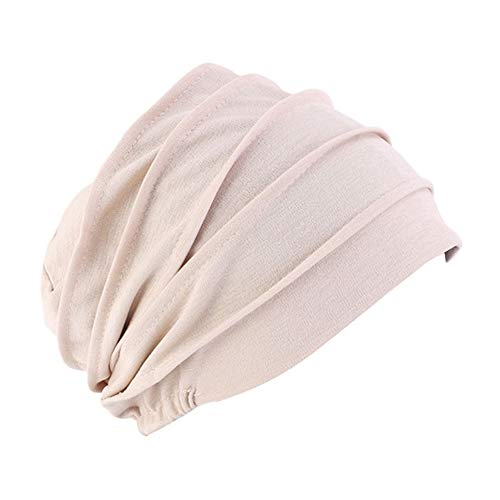 Cancer XiFe Unisex Indoors Cotton Beanie Soft Sleep Cap for Hairloss Chemo
