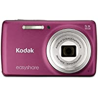 Kodak EasyShare M552 14 MP Digital Camera with 5x Optical Zoom and 2.7-Inch LCD - Dark Pink Advantages Review Image