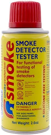 6 cans SMOKE DETECTOR TESTER, 2.5 oz. By Centurion