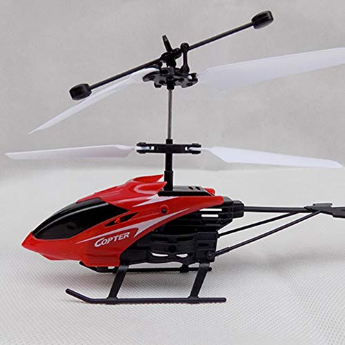 (Forart Mini RC Helicopter Electric Infrared Sensor Toys Radio Remote Control Micro Hand Induction Flying Aircraft Toys Gift)