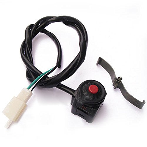 Sedeta Universal Horn Button Stop Kill Switch 22mm Handlebar Mount for Motorcycle Motorbike Scooter ATV