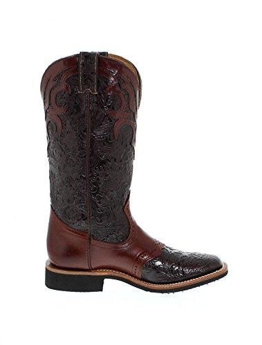Fb Mode Støvler Boulet 4752 Kastanjebrun Western Ridestøvler Til Kvinder Brun Kastanje (bredde C) ZNMkMe