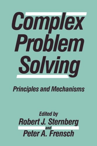 Complex Problem Solving: Principles and Mechanisms