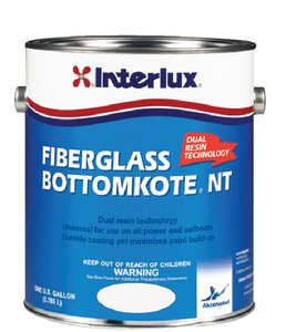 Interlux YBB369/1 Fiberglass Bottomkote NT Antifouling Paint (Blue), 128. Fluid_Ounces