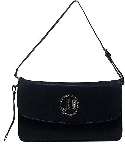SMALL CLUTCH J.LO BY JENNIFER LOPEZ BLACK BAG BAGJL6154NE NERO