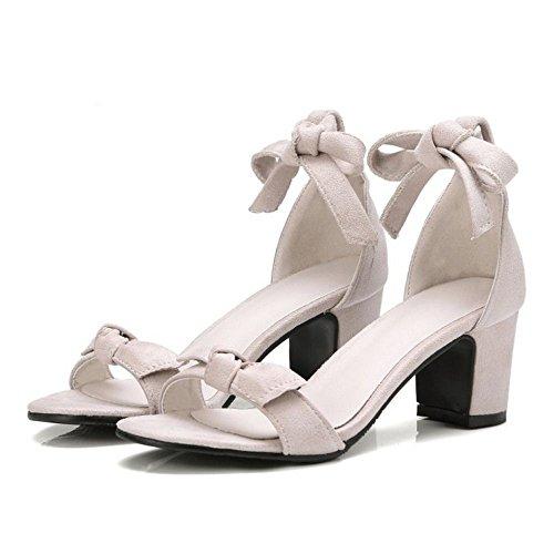 Chaussures Sandales Ete Beige Moyen Talons VulusValas Femmes IvqCxwff0