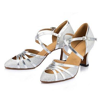 Heel Sneakers Non Silver donne's EU36 pratica da US5 UK3 Chunky scarpe CN35 Aemember ballo 5 5 latino izable RRPqnzw0