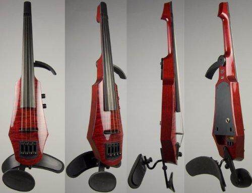 NS Design WAV 4 Violin Transparent Red