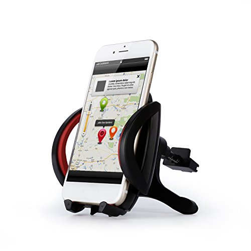 Goldlion66 Universal Stainless Steel Air Vent Mount Cooling Car Phone Holder for iPhone 6 6s Plus 5 Samsung S7 S6 edge S5 Stand Support